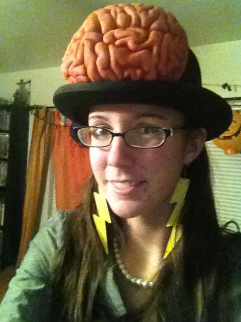 Brainstorm costume