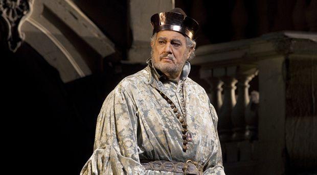 "Plácido Domingo Sings Baritone in ""Simon Boccanegra"" at the Met"