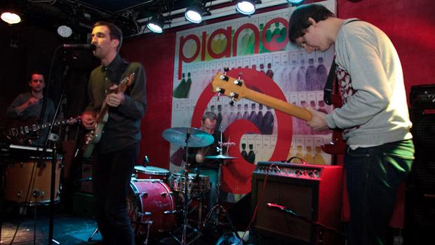 Banjo or Freakout performed at Pianos on the Lower East Side on March 13.