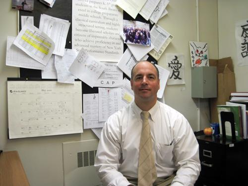 Lester Long is Executive Director of South Bronx Classical.