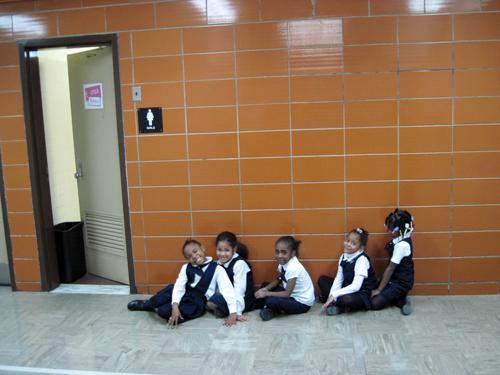 """At South Bronx Classical """"bathrooming"""" is a verb. Students are taken to the bathroom three times a day."""