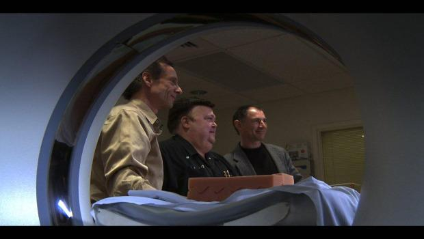 Four rare violins undergo a CT scan at Northwestern Memorial Hospital in Chicago