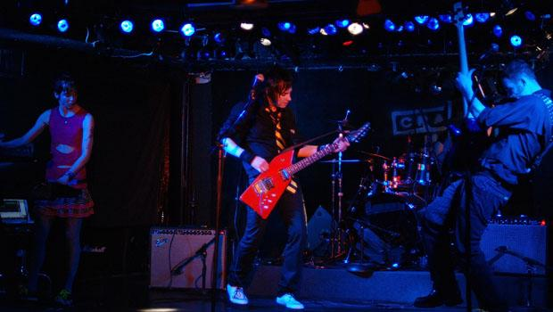 The Dead Stars On Hollywood performed at Crash Mansion on the Lower East Side on March 18.