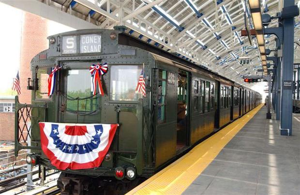 mta vintage train