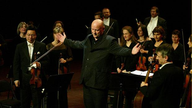 Performance of Jesus' Blood with Opera orchestra in Rouen, France