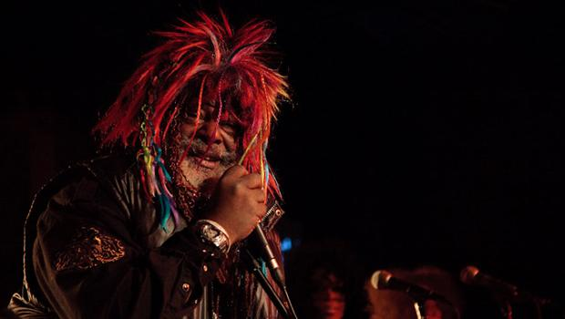 George Clinton and Parliament Funkadelic performed at B.B. King's in midtown on February 21.