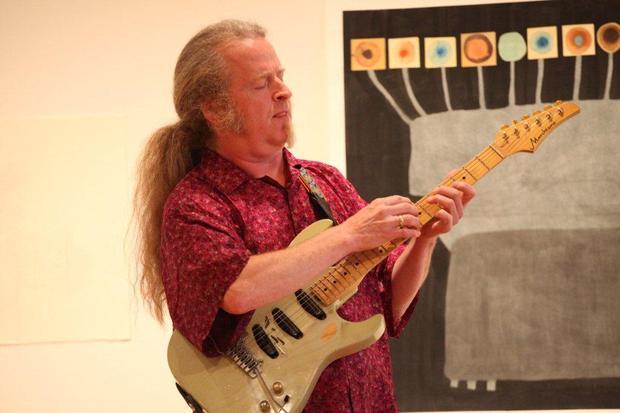 Guitarist Mark Stewart