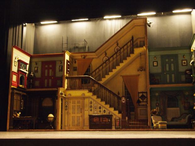 The Banks' family house in 'Mary Poppins on Broadway.'