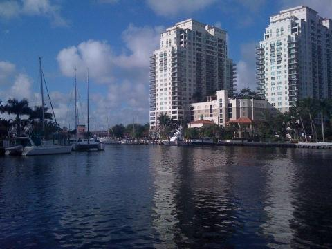 I live about a mile from my job in downtown Fort Lauderdale.