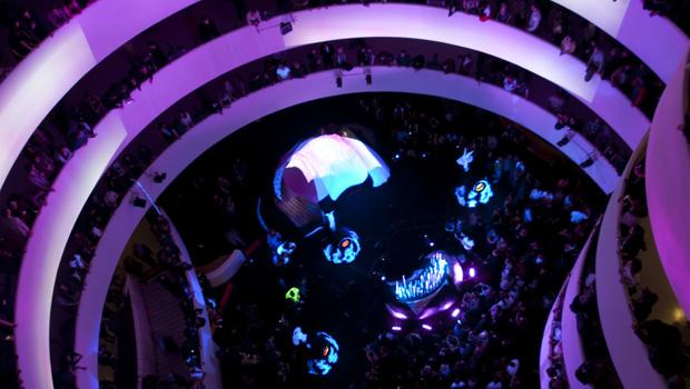 Animal Collective performed at the Guggenheim Museum on the Upper East Side on March 4.