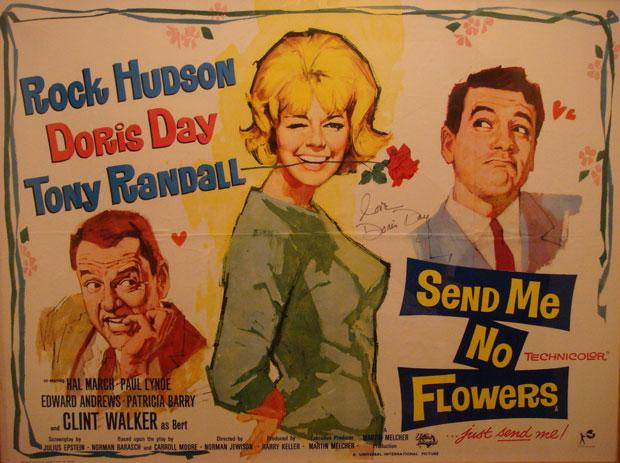 A Doris Day poster for her 1964 movie