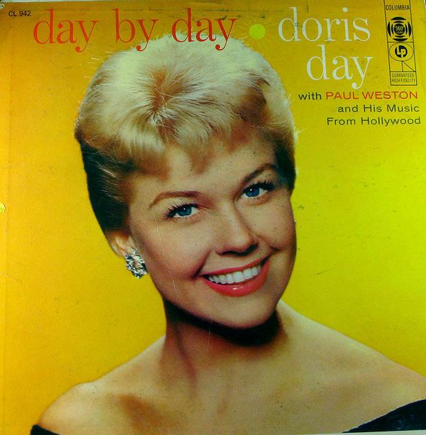 Doris Day's 'Day by Day' album, out on Columbia Records on December 17, 1956.
