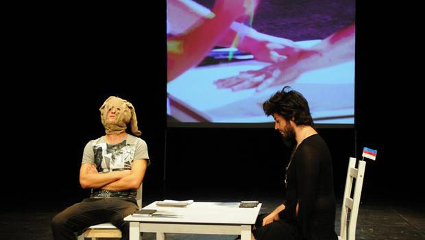 "Via Negativa of Slovenia will perform ""Game With Toothpicks,"" seen here, on March 19"