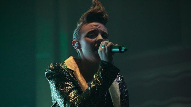 La Roux performed at Webster Hall in the East Village on February 11.