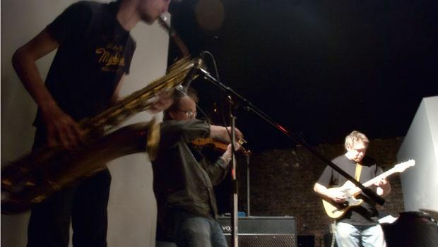 Larval performed at the Stone on February 4.