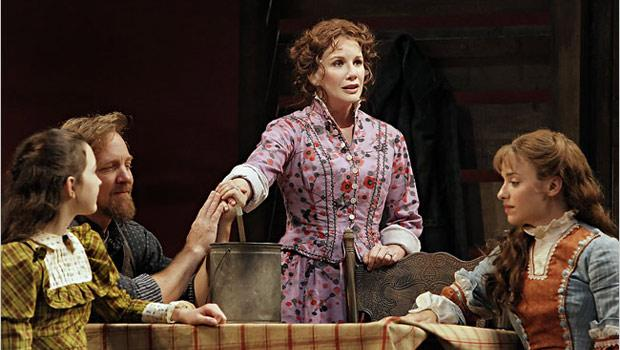 Little House on the Prairie at the Guthrie Theater (2008), directed by Francesca Zambello