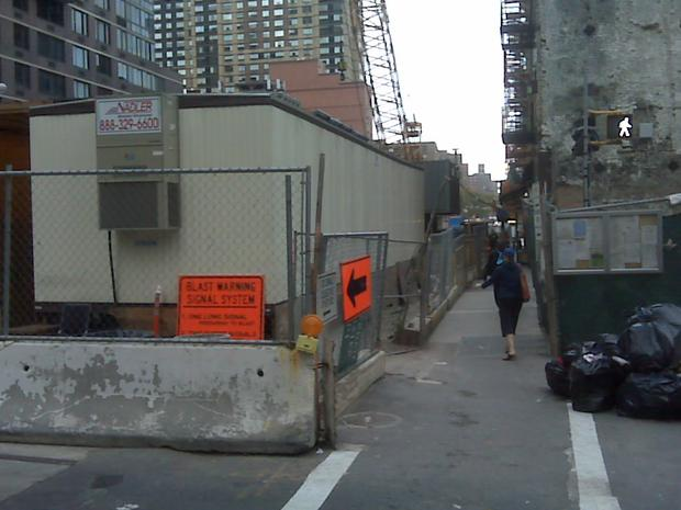 The MTA's proposing to widen all sidewalks to at least seven feet.