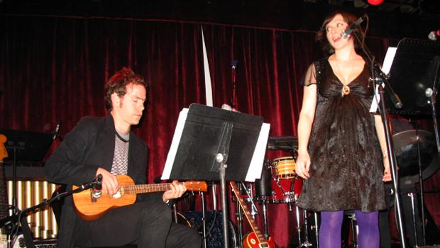 The Clogs performed at the Bell House in Gowanus on March 24.
