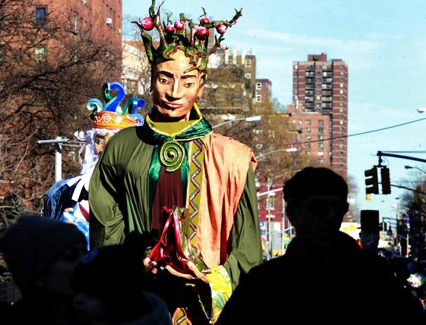 Three Kings Day puppets on parade in East Harlem. (2010)