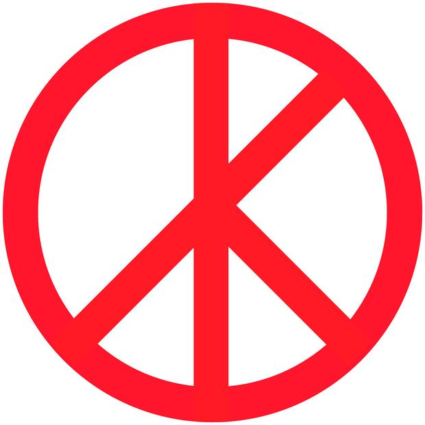End Of War Your Re Imagined Peace Sign Report Wnyc New York