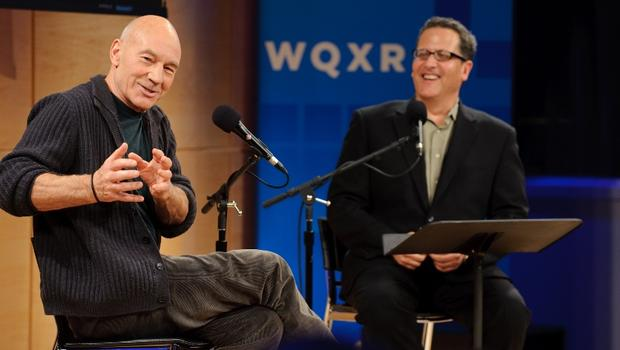 Patrick Stewart with Elliott Forrest in The Greene Space