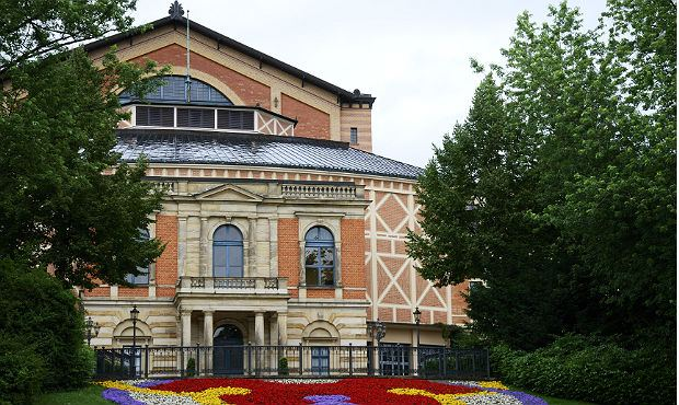 Richard Wagner Opera house in Bayreuth, Germany