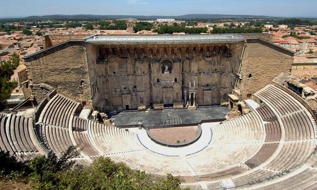 Théâtre antique d'Orange in southern France.