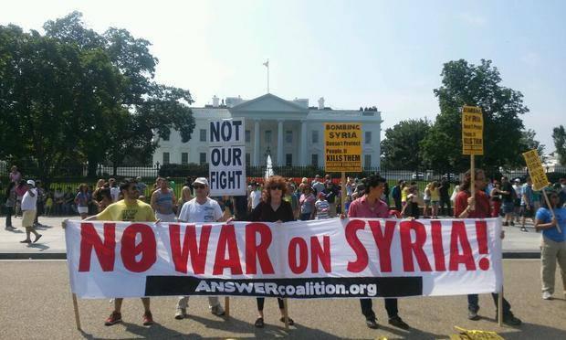 Maioria da população dos EUA se opõe a ação na Síria