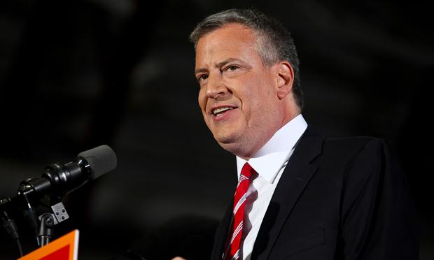 Mayor De Blasio Appearing On <em>The Colbert Report</em> Tonight