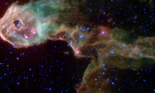 New stars being born in the Elephant's Trunk Nebula