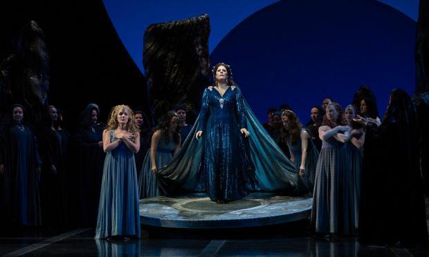 Sondra Radvanovsky in the title role of Bellini's 'Norma'
