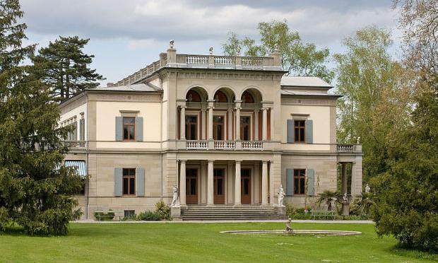 Die Villa Wesendonck in Zürich