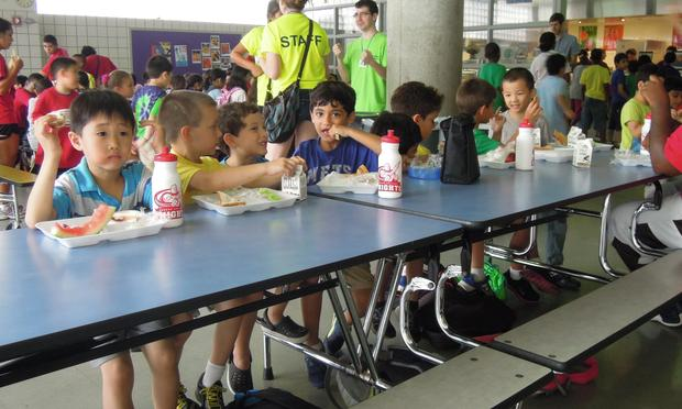 Middle School Lunch Table School Lunch Prices Rise