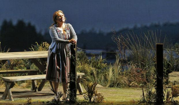 Patricia Racette in the tile role of 'Dolores Claiborne'