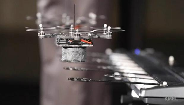 A 'Drone Orchestra' created by KMel Robotics