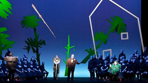 Robert Wilson's production of 'Der Freischütz' Baden-Baden, 2009