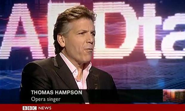 Thomas Hampson on the BBC's 'HardTalk' Program