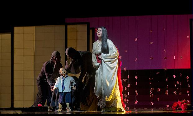 Amanda Echalaz as Cio-Cio-San in Puccini's 'Madama Butterfly,' one of the successes of the last decade