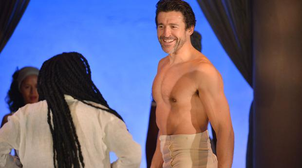 Jonathan Cake in 'Anthony and Cleopatra' at the Public Theater