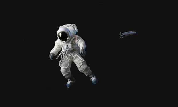 astronaut floating away - photo #2