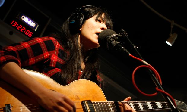 Thao Nguyen performs in the Soundcheck studio.