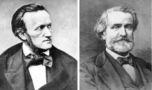 Richard Wagner and Giuseppe Verdi