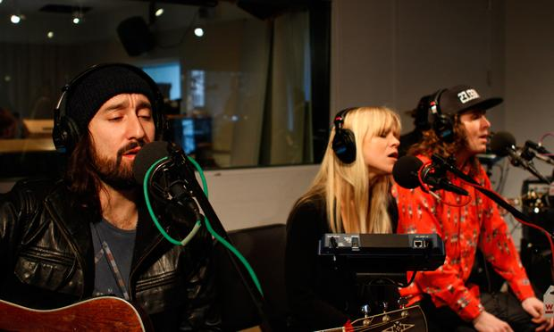 Youngblood Hawke performs in the Soundcheck studio.