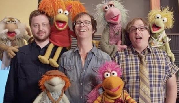 Ben Folds Five and Fraggle Rock, together again.