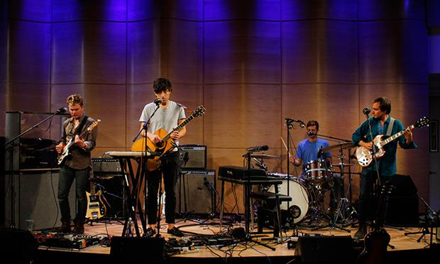 Grizzly Bear performs live at WNYC's Greene Space.