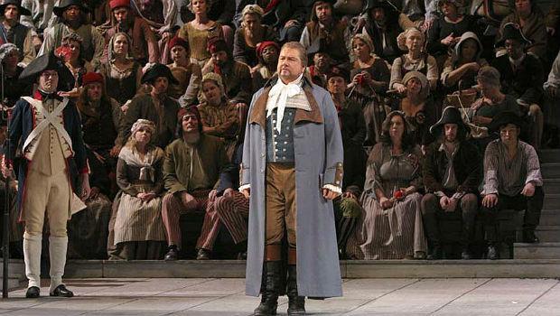 Ben Heppner in the title role of 'Andrea Chenier' in 2006