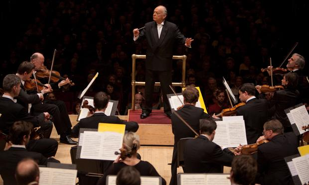 Lorin Maazel leads the Vienna Philharmonic at Carnegie Hall