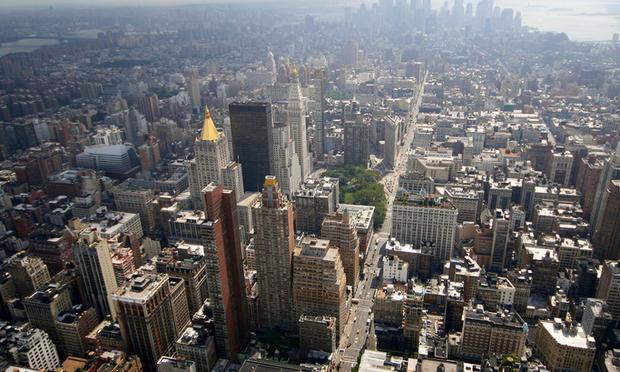 New York City from above. ( caruba/flickr )