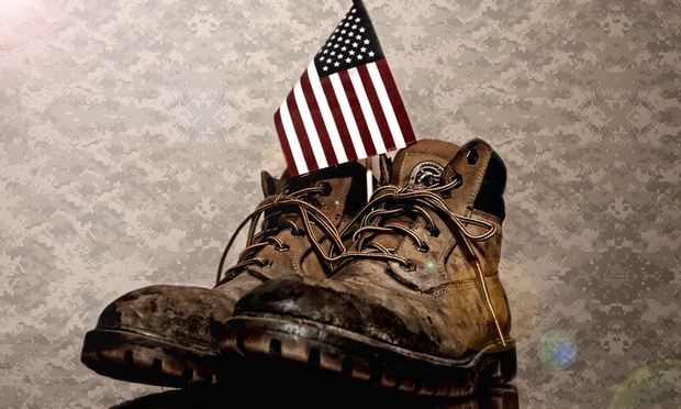 veterans, boots, flag