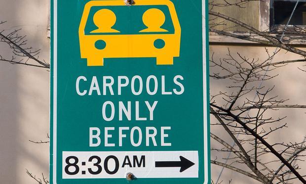 Carpools only